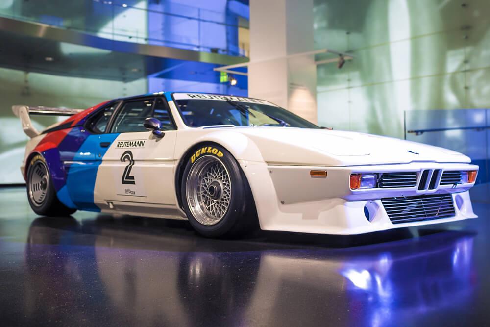 M1 Art Car : quarante années, ça se fête !