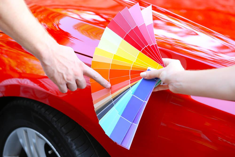 Trouver la bonne peinture pour votre voiture