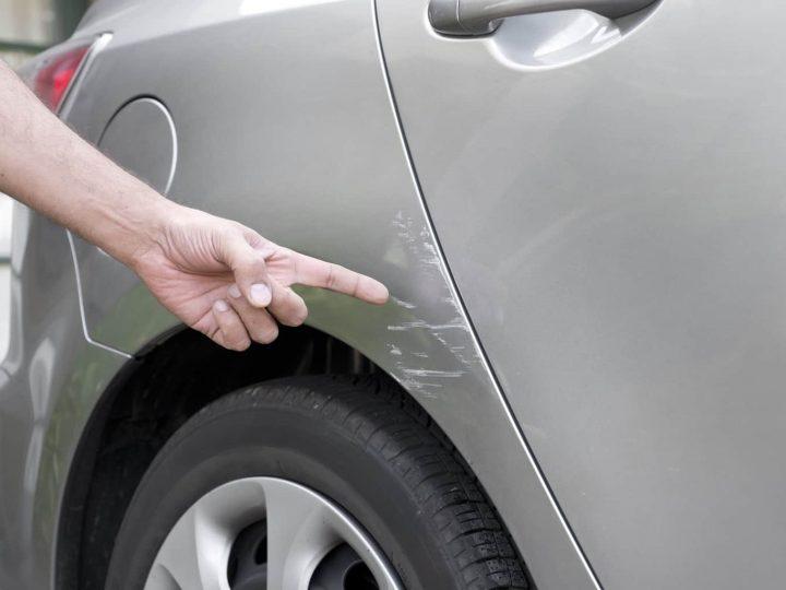 Enlever les rayures profondes sur la carrosserie de votre voiture